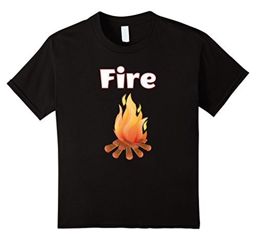 And Couples Ice Costume Fire (Kids Halloween Costume T-Shirts - Fire and Ice 6)