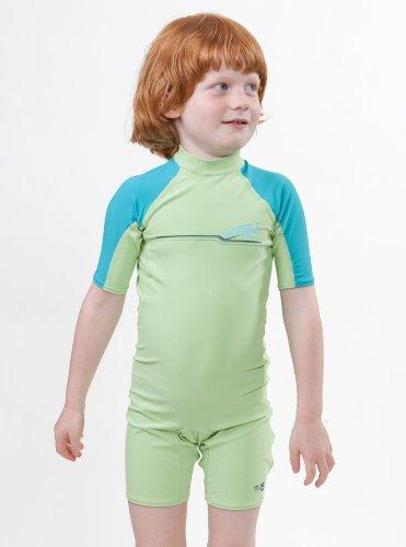 toddler shorty 6 Lemongrass/lagoon ()