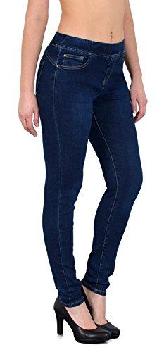 Femme J291 Femme Jeggings pour Ceinture J252 lastique tex avec Skinny Pantalon by ESRA Skinny Femmes Jean qwxOTUgU