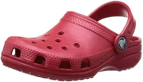 crocs  Unisex kids Classic K Clog , Pepper, 3 US Little Kid / 5 US Big Kid
