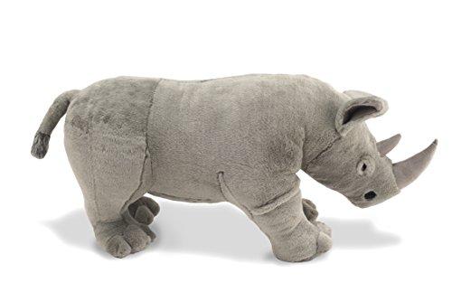 Melissa Doug Giant Rhinoceros Lifelike Stuffed Animal Nearly 3