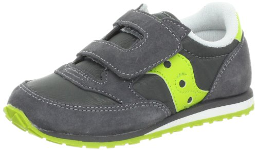 Saucony Boys Baby Jazz HL Shoe (ToddlerLittle Kid)GreyCitron10 M US Toddler