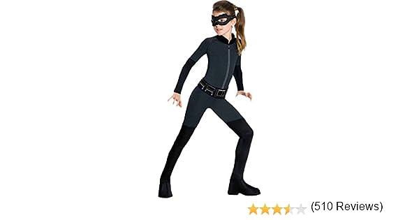 Batman - Disfraz Catwoman para niña , S (3-4 años): Amazon.es ...