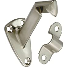 Stanley National Hardware MPB112 Handrail Brackets in Satin Nickel