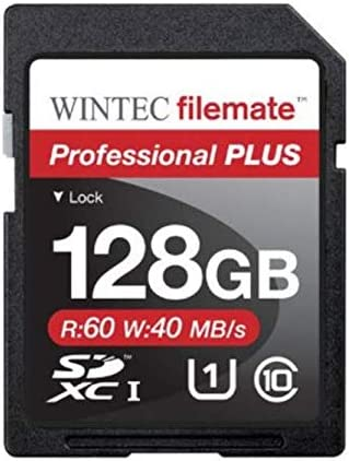 Wintec Filemate Professional Plus 128GB SDXC UHS-1 Memory Card Class 10