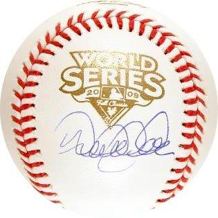 Derek Jeter Steiner Signed 2009 World Series Baseball-