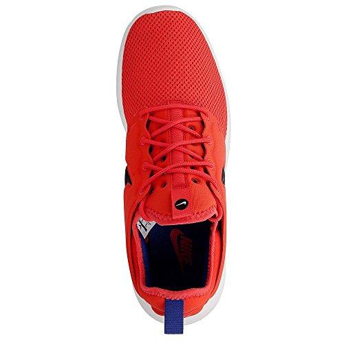 Nike Roshe Two, Scarpe da Corsa Uomo Nero-arancione