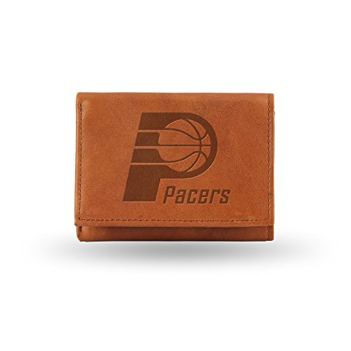 NBA Indiana Pacers Embossed Leather Trifold (Rico Indiana Pacers Leather)