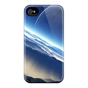 Special Luoxunmobile333 Skin Samsung Galaxy S6 , Popular Outer Space Planets Moon Phone Cases