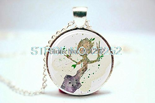 Groot Art Print Necklace