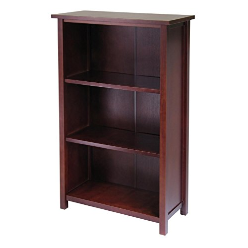 (Milan Storage Shelf or Bookcase 4-Tier-)