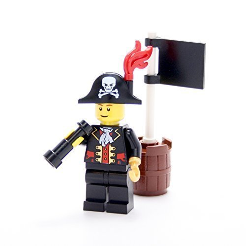 LEGO Collectible Minifigures 2011 Series PIRATE CAPTAIN (Loose Figure)