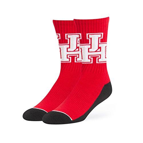 NCAA Houston Cougars OTS Anthem Sport Socks, Large, Red -