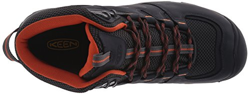 Keen Gypsum Ii Mid Wp, Zapatos de High Rise Senderismo para Hombre Negro (India Ink/burnt Ochre)