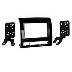 Metra 95-8235B Double DIN Dash Installation Kit for 2012 Toyota Tacoma Vehicles (Black)