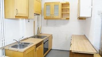Küchenzeile ikea  Küche Gebraucht Ikea Rationell Blenden Massivholz Modern Buche ...