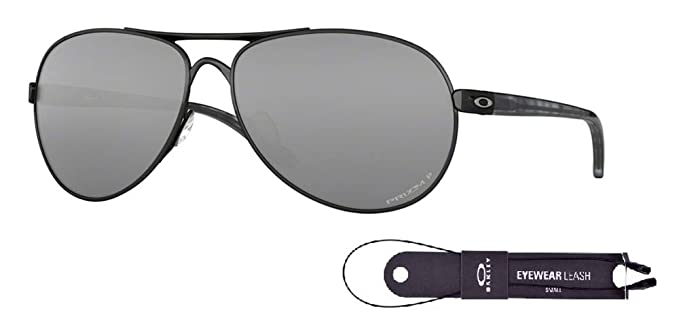 6965628467 Oakley Feedback OO4079 407934 59M Polished Black Black Prizm Polarized  Sunglasses+BUNDLE with Oakley