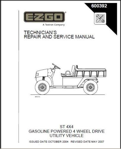 EZGO 600392 2004 - Current Technician
