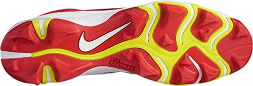 Crampons Force nbsp;Keystone blanc Baseball Truite rouge Homme 4 US Nike pour wqA4F