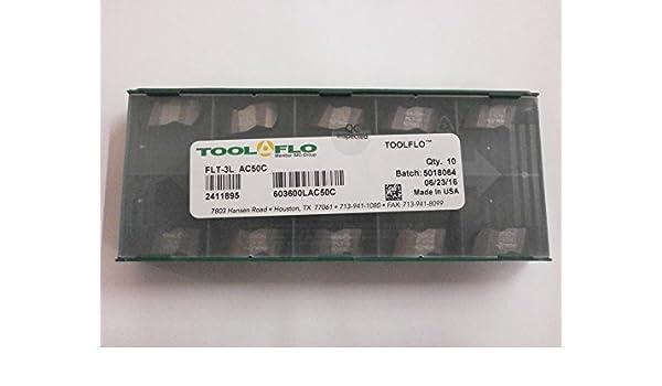 10 Pack Cobra Carbide NT-3R Coated CM14 Carbide Insert RHand Notched