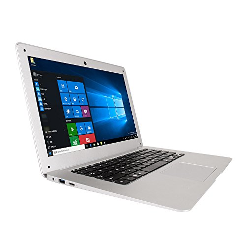 Jumper EZbook 2 FHD 4GB RAM 64GB eMMC Laptop Computer 14.1 Inch Intel Quad Core Windows 10 1080P HD Graphics 500 Silver Notebook -  43272-1720