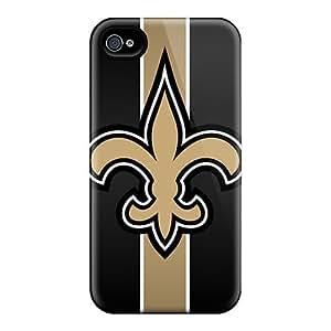 CalvinDoucet Shockproof Scratcheproof New Orleans Saints Hard Cases Covers For Iphone 6