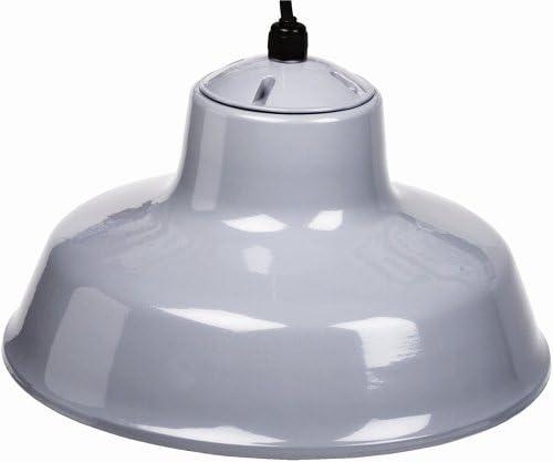 Designers Edge L-1712 14-Inch Indoor One-Light Downward Hanging Farm Light Fixture, Powder Coated