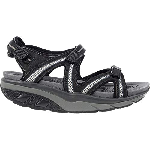 MBT USA Inc Women's Lila 6 Sport Black/Charcoal Grey Outdoor Sandals 700667-201L Size 7-7.5