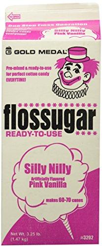 Gold Medal Flossugar-3.25Lbs./52oz.,Silly Nilly,Vanilla Pink