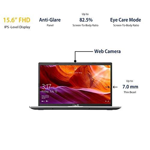 ASUS i3-1005G1//4G/1T/15.6″FHD/Office H&S/Finger Print/ X515JA-EJ302TS Laptop (Transparent Silver )