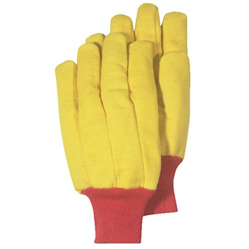 - MAGID Glove & Safety 565KWTS Men's Chore Glove, Small, Gold