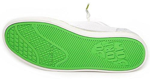 Satorisan, Unisex adulto, Heisei Tie Dye Concrete, Pelle / Tela, Sneakers, Bianco