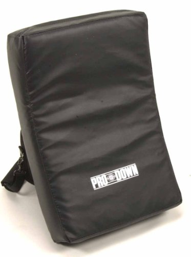 Pro Down Collegiate Shield (Black, 16 x26-inch ) (Football Equipment)