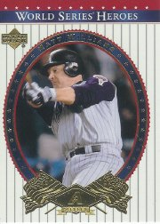 Deck Upper Series World (2002 Upper Deck World Series Heroes Baseball Card #28 World Series Mint)