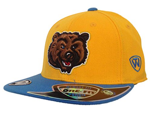 Top of the World UCLA Bruins Tow Youth Yellow Blue Enhance Slam Memory Flexfit Flat Bill Hat Cap ()