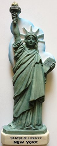 Statue of Liberty NEW YORK Resin 3D fridge Refrigerator Thai Magnet Hand Made Craft. by Thai MCnets by Thai MCnets