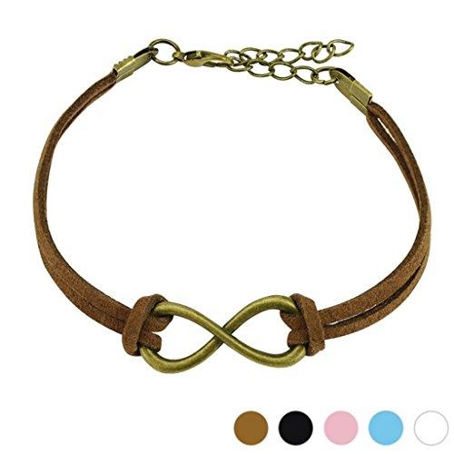 Bracelet en cuir couleur marron