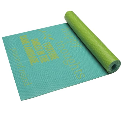Gaiam Inspired Print Yoga Mat