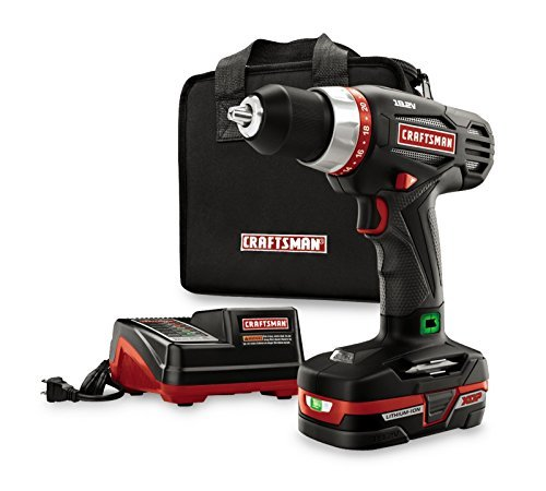 Craftsman C3 1/2-In Heavy-Duty Drill Kit Powered by XCP 35704