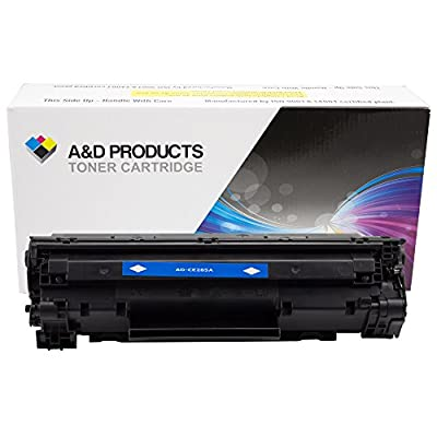 A&D Products Compatible Replacement for HP CE285A Toner Cartridge HP 85A Black (1,600 Page Yield)