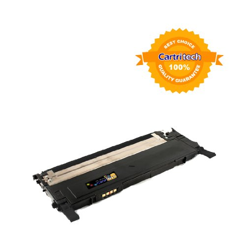 Cartritech Compatible Samsung CLT-K407S Black Laser Toner Cartridge Yield 1,500 pages for Samsung CLP-320 CLP-320N CLP-325 CLP-325W CLX-3185FW CLX-3185N CLX-3186, Office Central