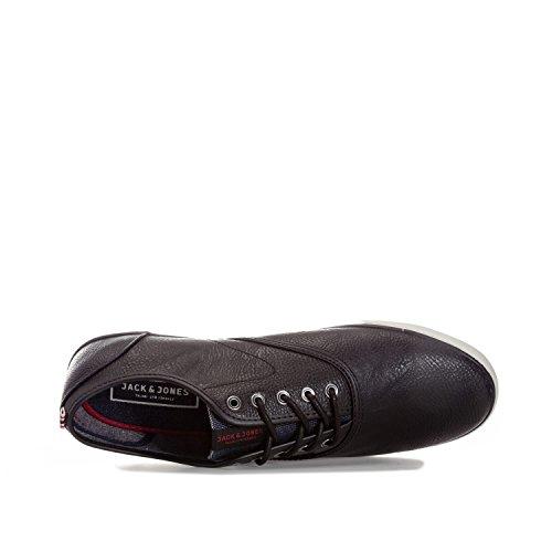 Jack & Jones - Zapatillas de Material Sintético para hombre Negro anthracite black