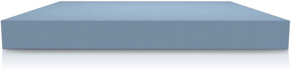 piazza e mezza 120x190 cm cuscino in fior di memory Materasso anatomico Eva H17 cm con accogliente memory Foam e poliuretano