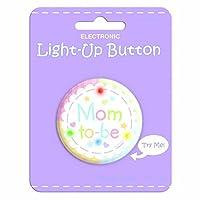 Amscan Mom to-be Light-Up Botón Favor de la novedad | Baby shower