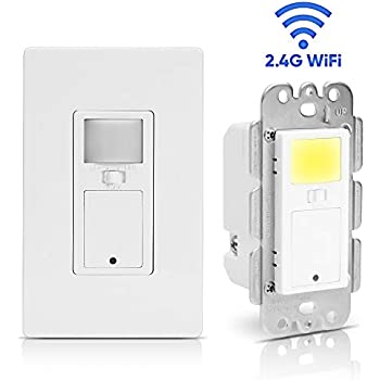 Eoce Smart Light Switch Smart Switch With Motion Sensor