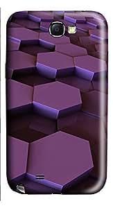Samsung Note 2 Case 3D Box 3D Custom Samsung Note 2 Case Cover