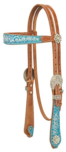 (Weaver Leather Snowflake Brow Band Headstall)