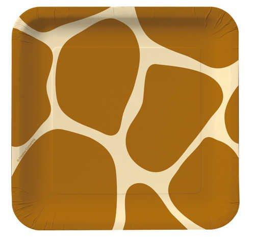 Creative Converting Animal Giraffe Dessert