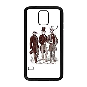 Samsung Galaxy S5 Cell Phone Case Black Gentlemen in the woods