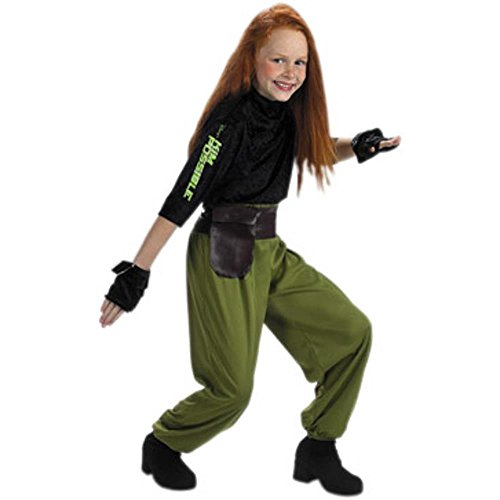 Halloween Costume Possible Kim (Kim Possible Agent Sz 4 To 6)